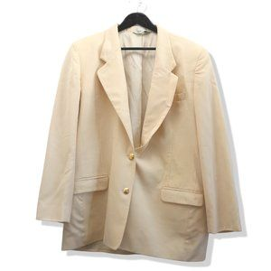 AUSTIN REED 100% Wool Vintage Cream White Blazer
